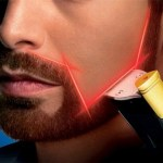 Beard Trimmer with laser guide will have you looking prim and proper