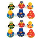 Super Hero Rubber Duck Party Favors