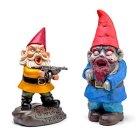 Zombie Apocalypse Garden Gnomes