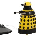 Doctor Who Yellow Dalek USB Desk Protector gets rid of unwanted colleagues