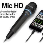 iRig Mic HD digital handheld microphone targets Apple devices