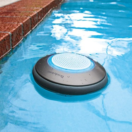 Brookstone Waterproof Speaker