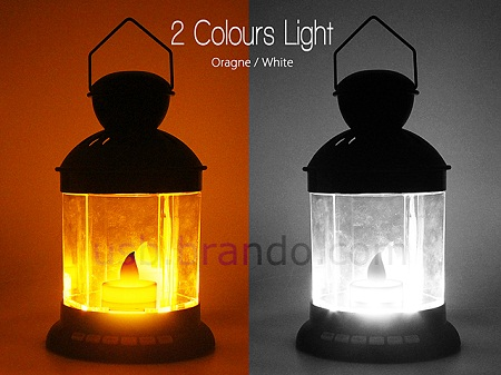 2 color USB lantern mp3 player