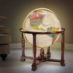 World's Most Detailed Globe adds some flair to your living room