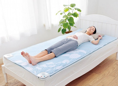 Air conditioned bed mat