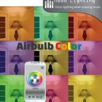 AirBulb Color brings mood lighting and audio simultaneously