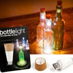 Rechargeable Bottle Light brightens up room in a novel way