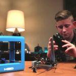 The Micro consumer 3D printer launches on Kickstarter