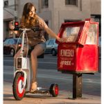 3 Wheel Folding Electric Scooter helps you get around in style