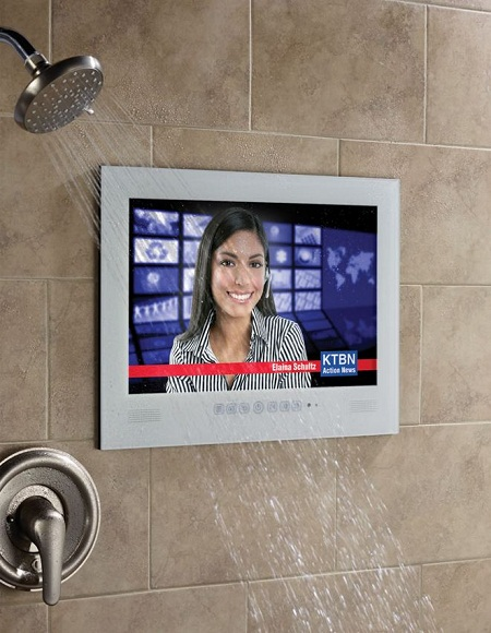 Home spa waterproof television