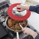 The Kuhn Rikon Smart Lid will keep your pots and pans from making a mess
