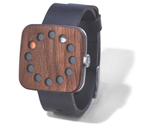 The Grovemade Wood Watch gives