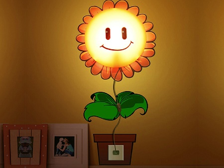 Happy Sunflower Wall Lamp