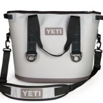 The Yeti Hopper Cooler will keep your drinks chilled all weekend long