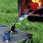 FlameStower Mobile Device Charger uses fire and water to charge devices