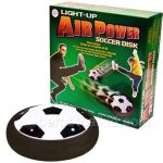 Light Up Air Powered Soccer Disk delivers air hockey goodness at a bargain