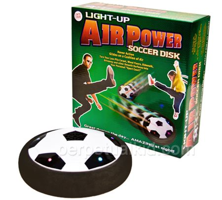 Light Up Air Powered Soccer