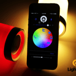 The LightFreq is a light and speaker system for your home