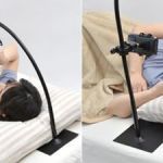 Gorone Tablet smartphone stand lets you read while lying down