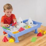 Messless Indoor Sandbox makes cleaning up easier