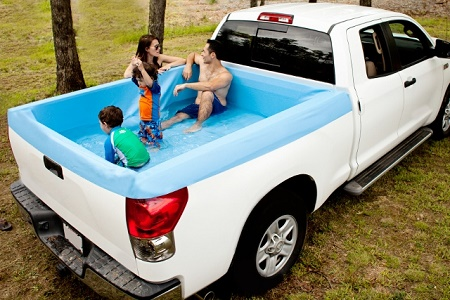 The Pick Up Pool will help you cool off in the scorching