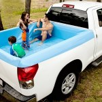 The Pick-Up Pool will help you cool off in the scorching heat