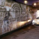 Nissan LEAF helps create artwork in spite of pollution in London