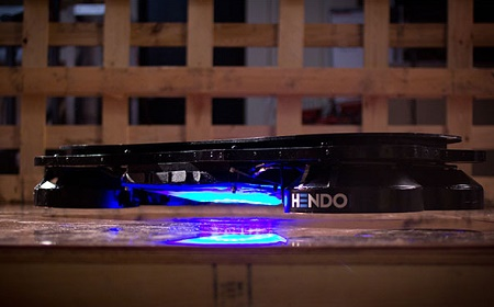 The Hendo Hoverboard - they