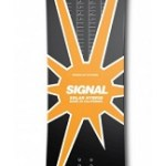 The Solar Hybrid Snowboard charges your phone while you're boarding