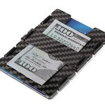 Carbon Fiber Credit Card Wallet offers added security