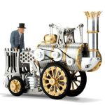 Stephenson's Rocket Stirling Engine targets the blooming engineers in your home
