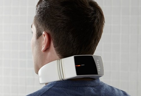 Neck Massager with wireless remote control
