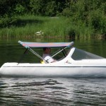The Escapade Pedal boat – race the waves