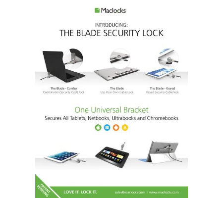 The Blade offers security for
