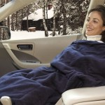 The Heated Fleece Travel Blanket makes long trips pass like a dream
