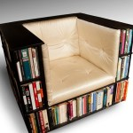 The Library Chair – the best place for books and buns