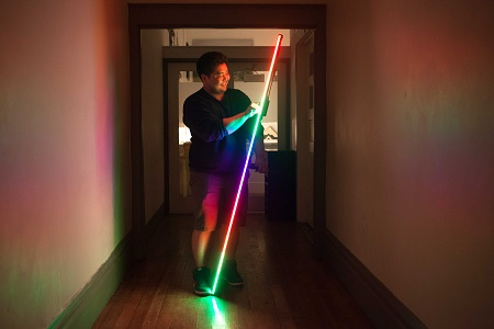 The Pixelstick Will Help You Paint Photos With Light