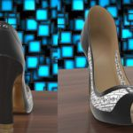Smart High Heel Shoe boasts of an e-Ink display