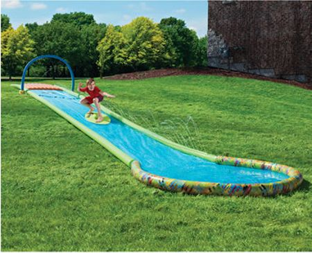 The only surfing water slide adds a new dimension of fun - How to build a swimming pool slide ...