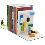 Build On Brick Bookends puts your creative juices to work
