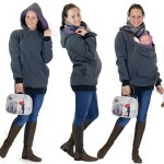 The Kangaroo Jacket lets you snuggle your tiny tot in the winter
