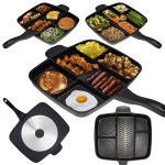 The Master Pan Meal Skillet makes sure none of your food will touch