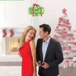 Mistletoe Drone guarantees you a kiss almost every single time