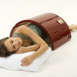 The Infrared Portable Sauna makes lounging at home feel like being at spa