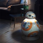 Never fear, the Life-Size BB-8 Floor Lamp is here!