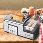 The Breakfast Maker gives you food in a flash