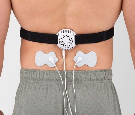 The Physical Therapises Electrostimulation pain Reliever