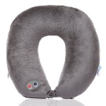 The Massage Neck Pillow eases the stress of traveling