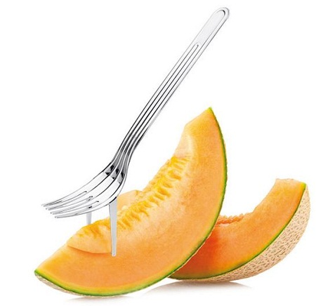Melon Corer and Fork