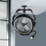 High Velocity Industrial Fan keeps you nice and cool